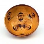 Bowl with bee decoration15 cm diameter