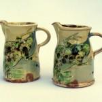small frog jugs