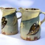 small feather jugs