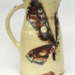 medium butterfly jug